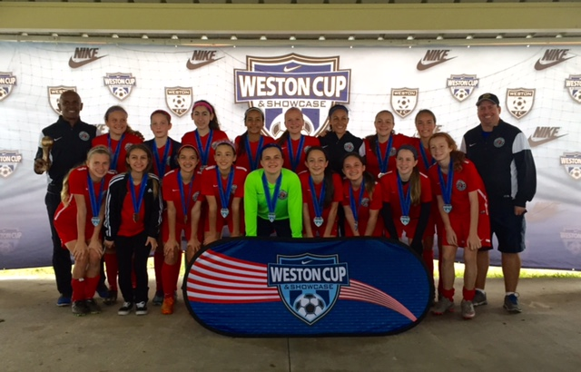 U13 Girls Weston Cup Champions!