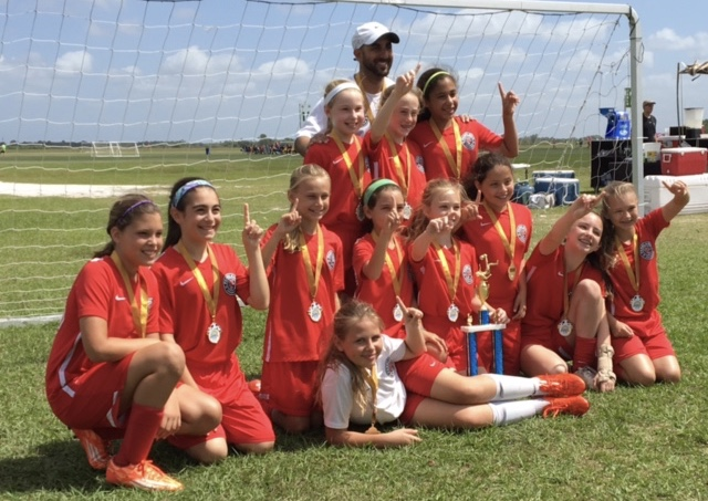 U11 Girls InterState Cup Champions!