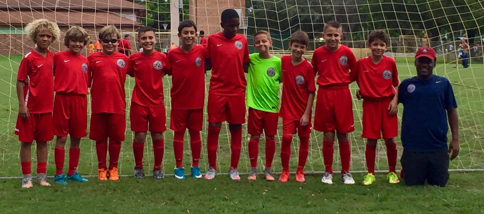 U11 Boys Red United Soccer Cup Champions