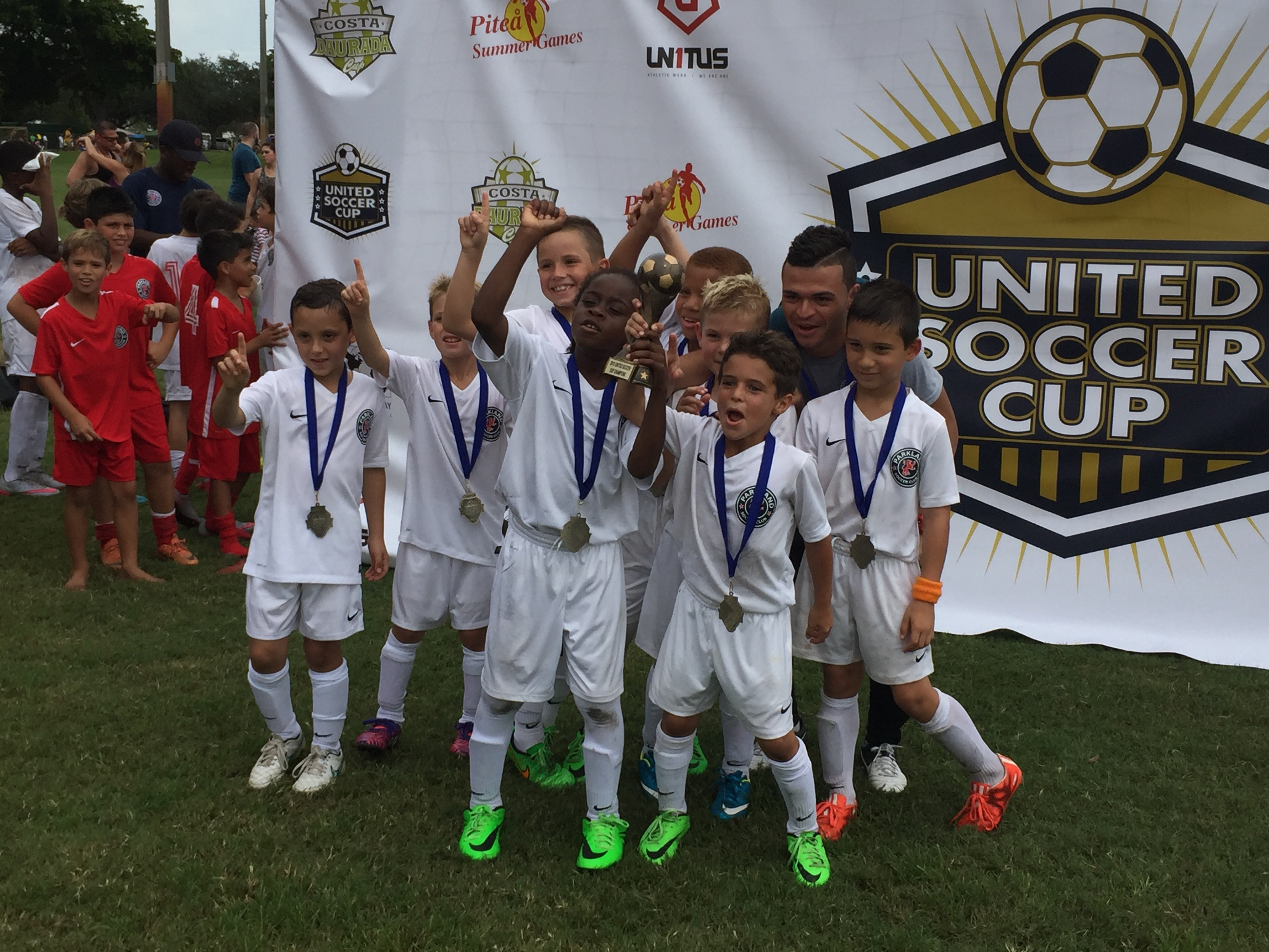 U8 Boys Red - United Soccer Cup Champions